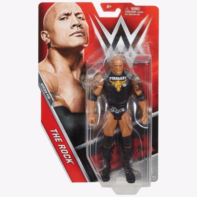 WWE Basic Aktion Figur: Serie 70 - THE ROCK NEU