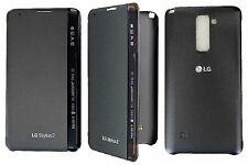 Custodia Quick Cover Edge Originale CFV-170 per LG Stylus 2 Stylo 2 Titan Black