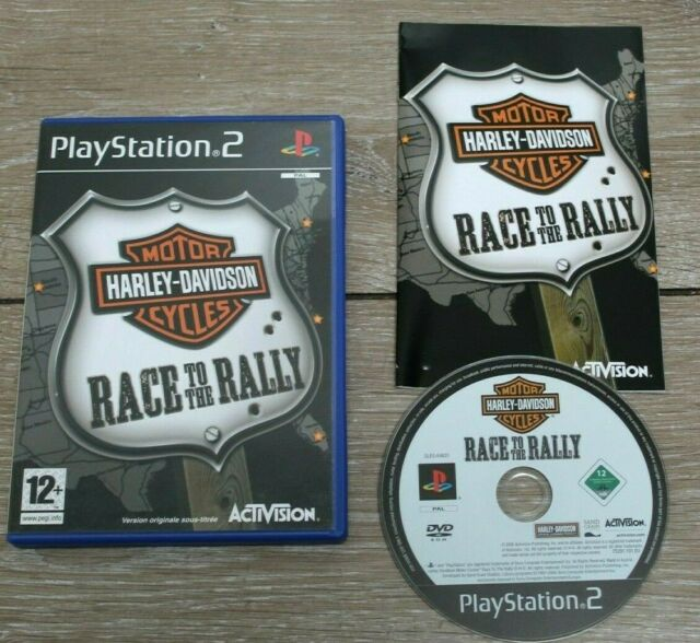 Sony Playstation PS2 - Harley Davidson Motorcycle - PAL