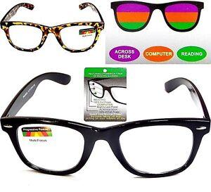 cc2538d7cf Image is loading PROGRESSIVE-Multifocal-Reading-Glasses-No-Line-Reader-3-