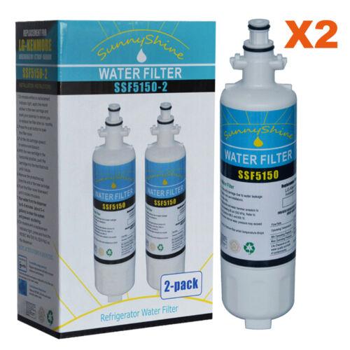 9690 /& LG LT700P Compatible Refrigerator Water Filter 2PK Kenmore 46-9690