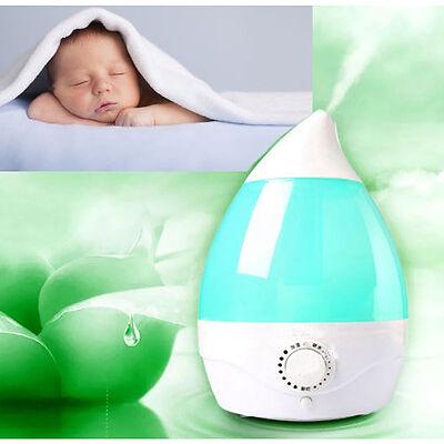 Humidificador 2l vapor ultrasonico atomizador purificador aire aromaterapia