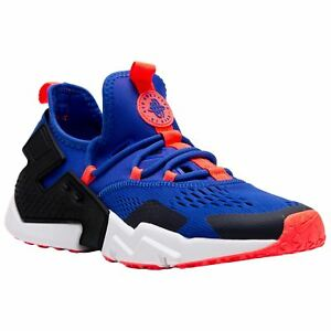 153ad91a2cd Details about Nike Air Huarache Drift Breathe Racer Blue Black Mens Mesh  Low-top Trainers