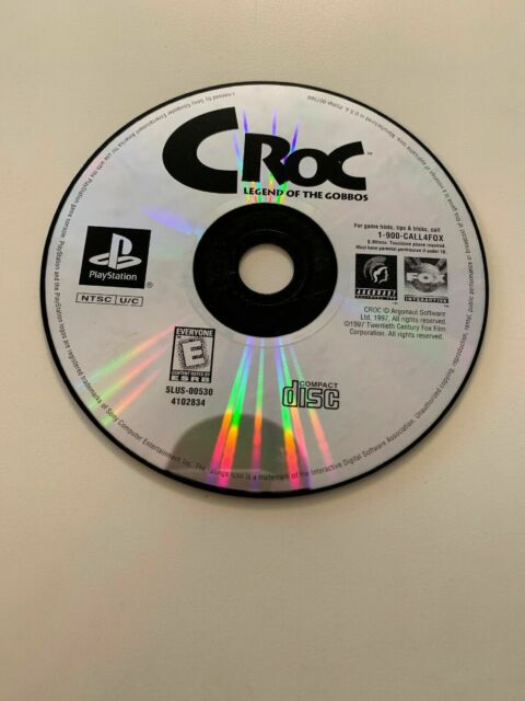 Croc: Legend of the Gobbos (Sony PlayStation 1, 1998) ship out fast