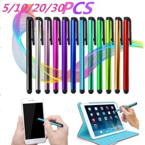 51020 Pcs Universal Capacitive Touch Screen Stylus Pen For All Pad Phone PC IO