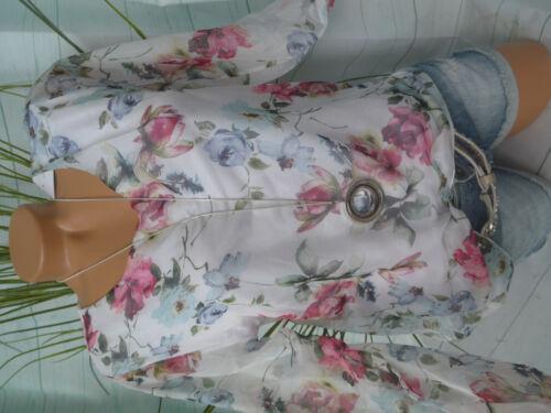 S bis L weiß gemustert Zabaione Bluse Damen Shirt Viskose Gr NEU 842
