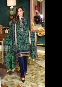 Pakistani-Indian-Cotton-Salwar-Kameez-Suit-Anarkali-Bollywood-Maria-B-Gul-ahmed