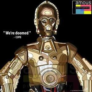 C3PO Star wars canvas ...C 3po Quotes