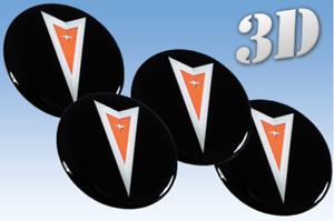 Wheel stickers Pontiac all size Centre Cap Logo Badge Wheel Trims 3d 56mm