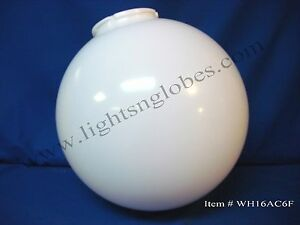 16 acrylic white plastic round globe outdoor light. Black Bedroom Furniture Sets. Home Design Ideas