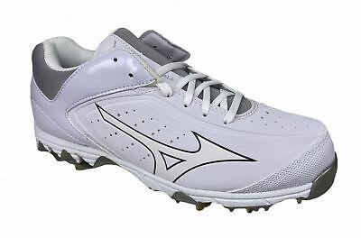 9 Spike Swift 5 Softball Cleats White