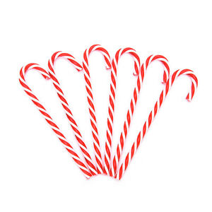 6-Xmas-Tree-Candy-Cane-Hanging-Ornament-Decoration-Christmas-Party-Decor-ZQH