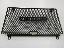 1050 Speed Triple (2010 only) Black Radiator Protector, Grill, Cover, T015STAB D