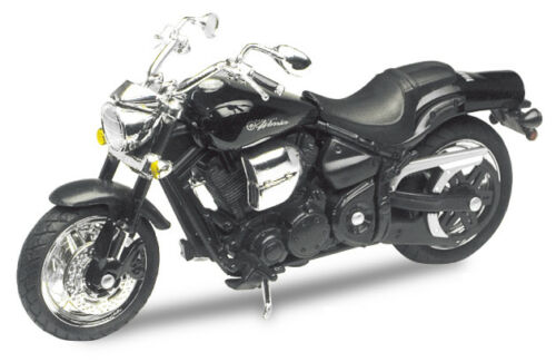 1:18 DIE CAST Motormax 437 2002 YAMAHA Road Star Warrior nero