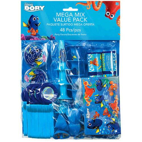 Finding Dory Birthday Party Supplies~Scene Setter,Swirl,Party Game,Balloon,Favor