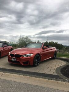 2015 BMW M4 Cabriolet with 53,000 km Manual