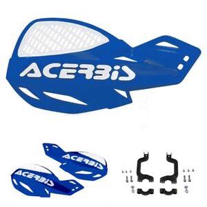 NEW ACERBIS UNIKO VENTED BLUE /& WHITE HANDGUARDS YAMAHA YZ125 YZ250 2004