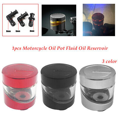Motorcycle CNC Front Brake Clutch Cylinder Fluid Oil Reservoir Cup for Ducati