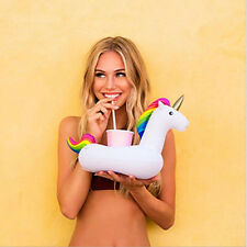 Unicorn Pool Party Inflatable Drink Holder Float Beverage Boat SUMMER MUST HAVE!