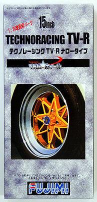 Fujimi TW36 Technoracing TV-R Wheel & Tire Set 15 inch 1/24 Scale Kit