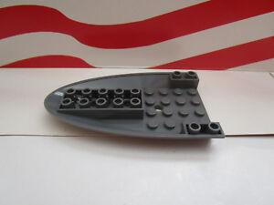 Dark Bluish Gray Aircraft Fuselage Curved Forward 6 x 10-87611 NEUF LEGO