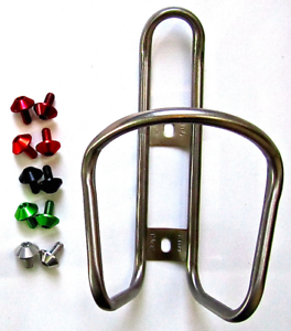 King Titanium Ti Bottle Cage 28g FREE MT ZOOM Shroom bolts tune it extralite