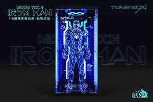 TOYS-BOX 1:6 Scale Iron Man Hangar 4.0 Fully Enclosed Dust Box Mk4 Model Figure