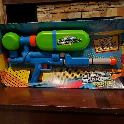 Nerf Super Soaker xp 100 Water Gun Limited Edition Brand New 2020 Summer Toy