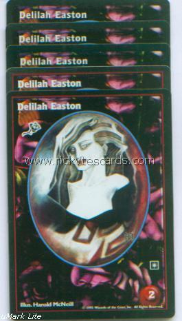 Delilah Easton x5 Toreador Jyhad VTES