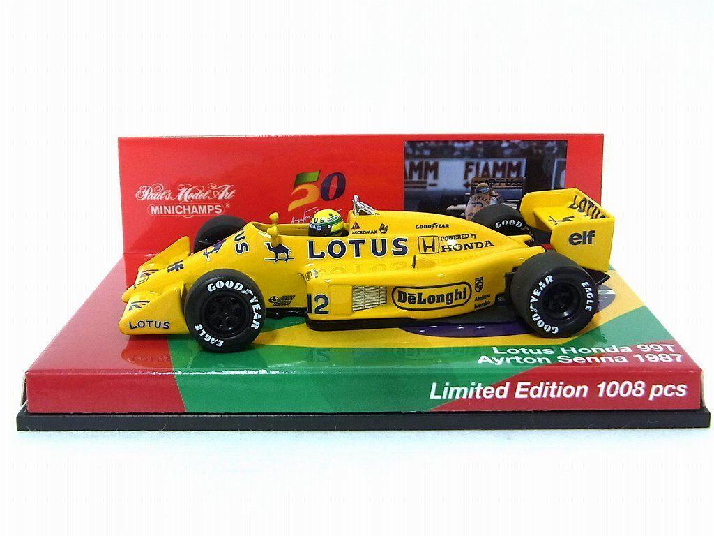 Lotus 99T Ayrton Senna 1987 50Th aniversaly Box