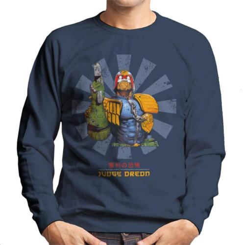 Judge Dredd Retro Japanese Men/'s Sweatshirt