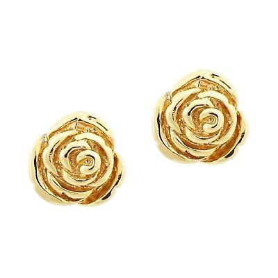 New 18ct Gold Filled  Stud Earrings  for girls children  4mm 5mm 6mm     200
