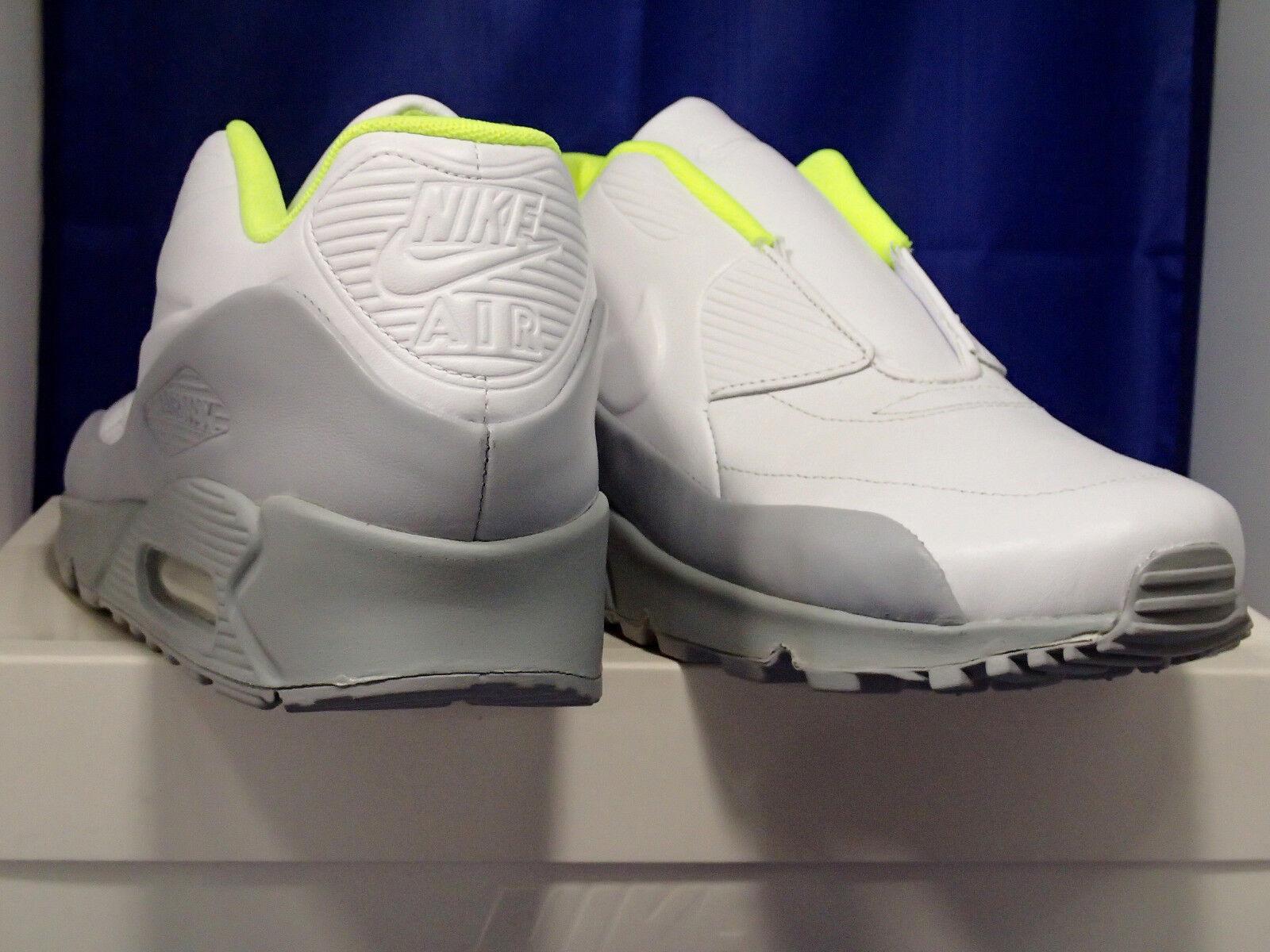Femmes Nike Air Max Wolf 90 Sp / Sacai Blanc Wolf Max Gris Volt Sz 7 (804550-110) 734de2