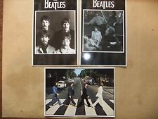 THE BEATLES LOT OF 3 POSTCARDS ABBEY ROAD JOHN LENNON GEORGE HARRISON McCARTNEY
