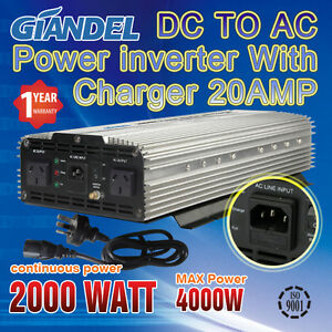 POWER-INVERTER-MODIFIED-SINE-WAVE-2000W-4000W-DC-12V-to-AC-240V-WITH-20A-CHARGER