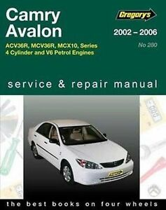 toyota camry acv36r mcv36r from 2002 2006 workshop manual with mpn rh ebay com au 2009 Toyota Camry Service Manual Toyota Camry Repair Manual