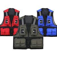 Fishing Vest Photography Multi-pocket Waistcoat Waterproof Breathable Jacket