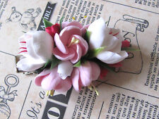 Flower Hair Clip HANDCRAFTED Fashion polymer clay Hair Clip Barrette HANDMADE