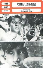FICHE CINEMA INDE INDIA Pather Panchali / La complainte du sentier  Satyajit Ray