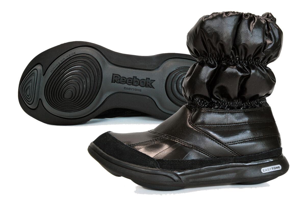New Reebok Easytone Boot Rainboot leather mis UK 5 & 3 exercise rain boot J81317