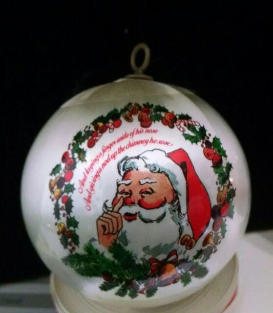Vintage Santa #3 Christmas Tree Ornament | eBay