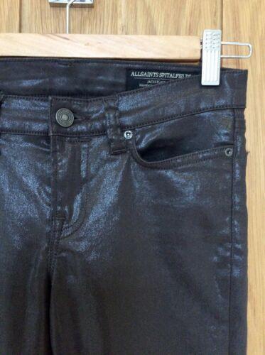 Zip noire Cheville skinny All Jeans revêtue Taille 25 Saints HqOW0wf