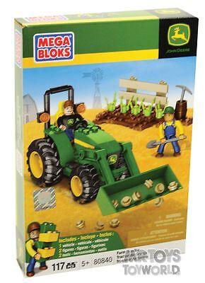 NEW Mega Bloks John Deere Farm Tractor 80840 from Mr Toys Toyworld