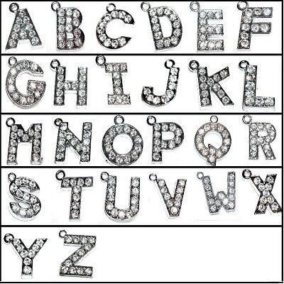 Letter Alloy Charm; Pendant 5 pieces 14mm M Alphabet Initial A0164