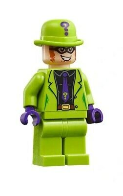 LEGO DC Super Heroes The Riddler MINIFIG from Lego set #7120 Brand New