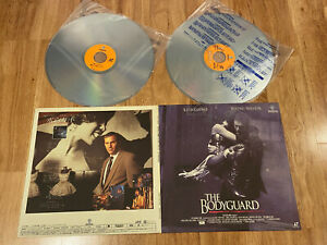 JAPAN-Ver-LaserDisc-LD-The-Bodyguard-1992-NJL-12591
