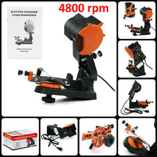 Electric Chainsaw Chain Saw Sharpener Grinder 4200rpm Wall Mount Tool