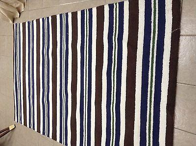 Striped Area Room Loop Rugs Rug 5x8