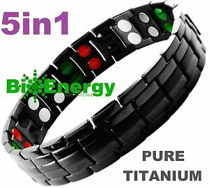 TITANIUM Magnetic Energy Germanium Armband Power Bracelet Health Bio 5in1 Bio - Margate, Kent, United Kingdom - Returns accepted - Margate, Kent, United Kingdom