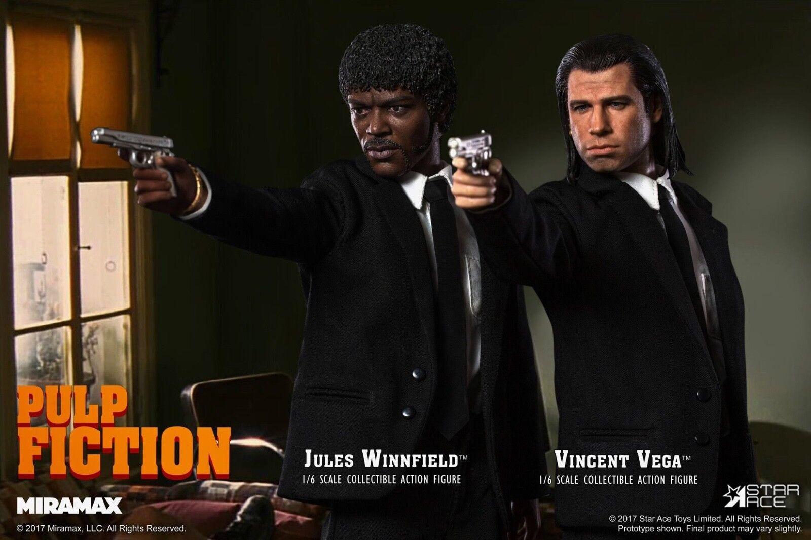 Juguetes Ace estrella listo Pulp Fiction Vincent Vega Vega Vega Jules Winnfield SA0041 SA0044 X2  para mayoristas
